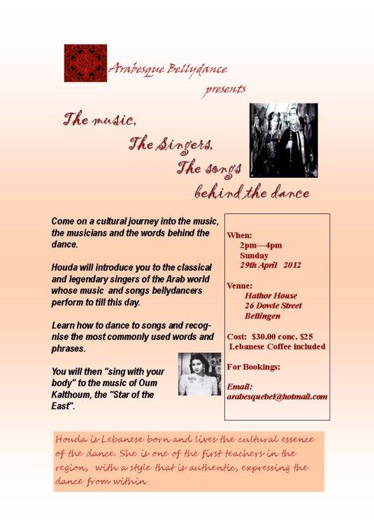 Houdas Arabic Music Workshop