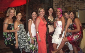 Jade Belly Dancer Hen's night