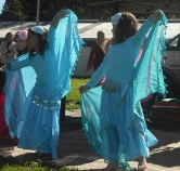 Jade Belly Dance students at World Belly Dance Day, Bellingen 2011
