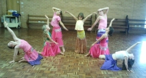 Kids Belly Dancing Class dramatic ending