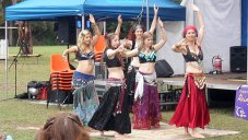 Jade Belly Dance students at Relay for Life Urunga 2011