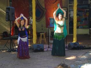Jade and Lyn at Crazy Day