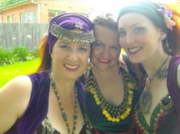 Jade Belly Dance CWA fundraiser Bellingen