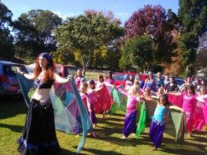 World Belly dance Day Bellingen 2012