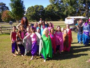 Jade belly dance children's classes