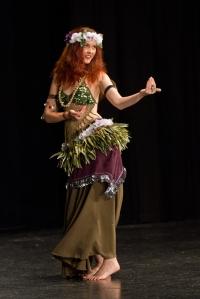 Jade Bellynesian by Wayne Eddy