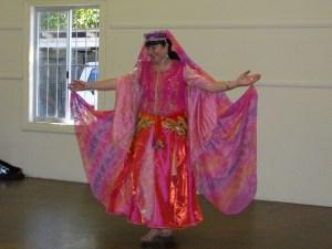 Nambucca Belly Dancer in pink
