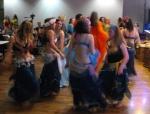 Dancers cutting loose!