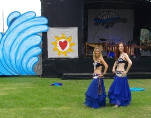 Belly Dancers at 2012 Bellinger River Festival