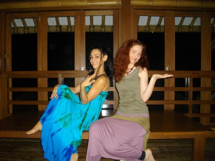 Shakti dance class