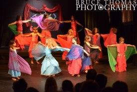 Children's veil dance