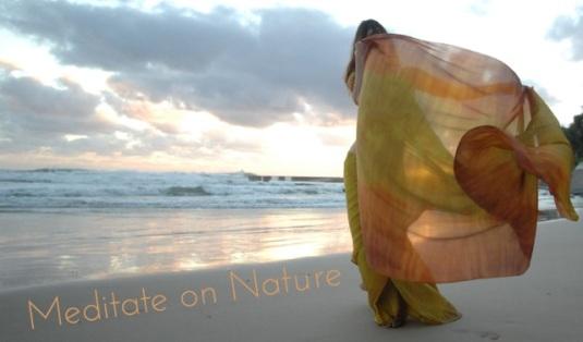 Nahari Veil dancer Meditate on Nature 2