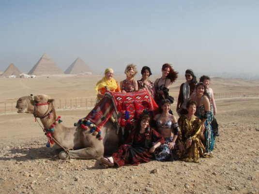 It was so fun to play dress ups in the desert after a camel ride - Jade 2010