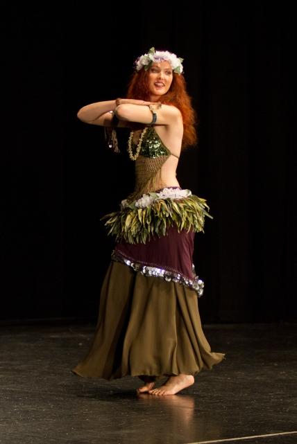 Belly Dance polynesian fusion