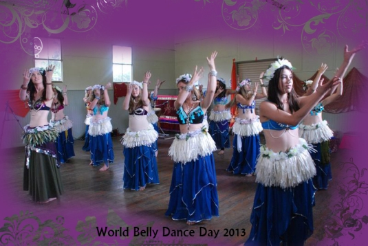 Polynesian / belly dance fusion