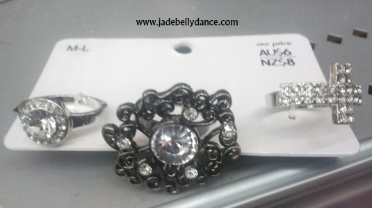 $6 for 3 rings, I only like 2 of them but hey at this price I am not concerned.
