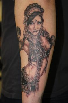 Rachel Brice Tattoo