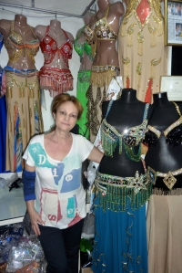 Belly dance costume in turkey