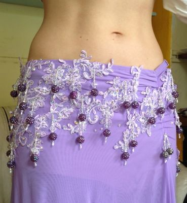 How to re colour a belly dance outfit