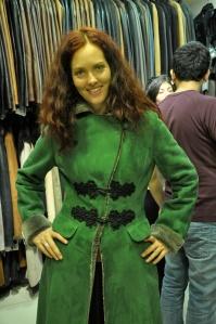Jade leather
