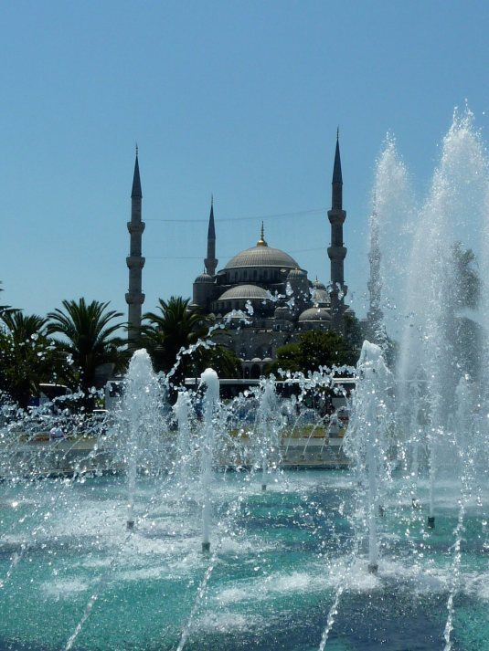 Hagia Sophia fountain