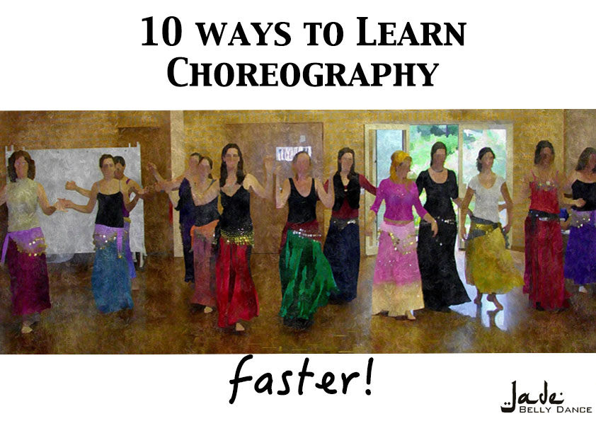 10 ways to learn choreography faster